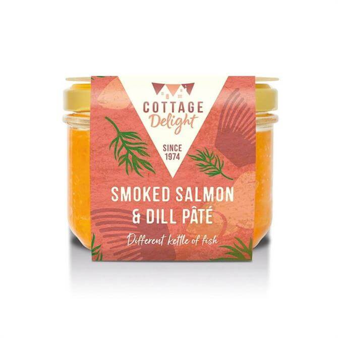 Cottage Delight Smoked Salmon & Dil Pate 180G