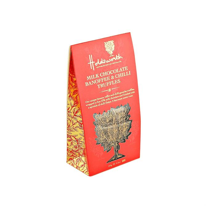 Holdsworth Milk Chocolate Banoffee & Chilli Truffles