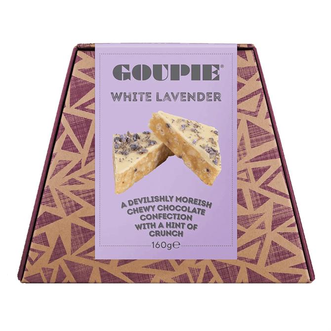 Goupie White Chocolate - White Lavender