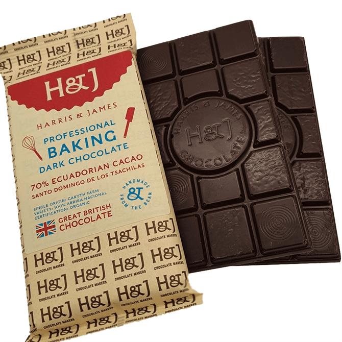 Harris & James Professional Baking Dark Chocolate