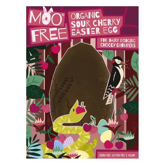 Moo Free Organic Sour Cherry Easter Egg