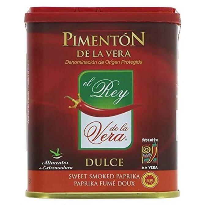 PIMENTON DE LA VERA SWEET SMOKED PAPRIKA 75G