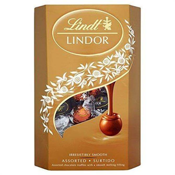 Lindt LINDOR Assorted Chocolate Truffles 337G