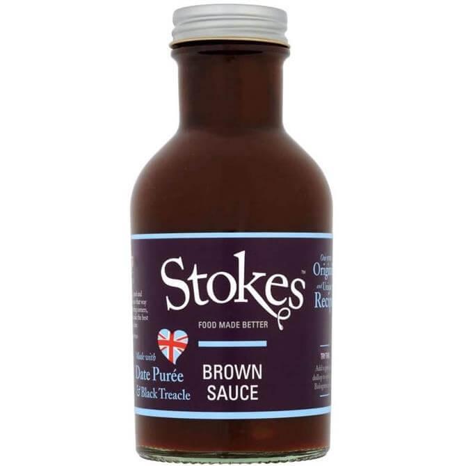 STOKES REAL BROWN SAUCE 320G
