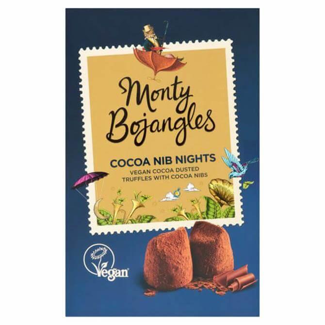 MONTY BOJANGLES COCOA NIB NIGHTS VEGAN TRUFFLES