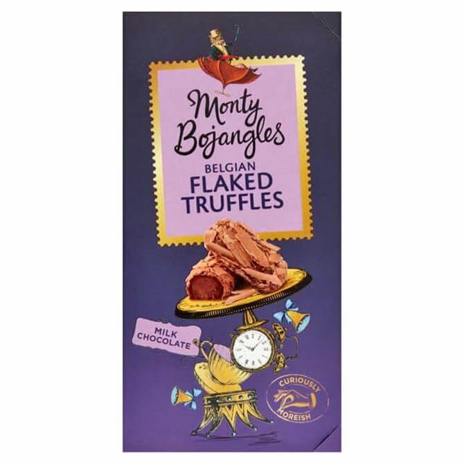 Monty Bojangles Milk Chocolate Flaked Truffles 100G