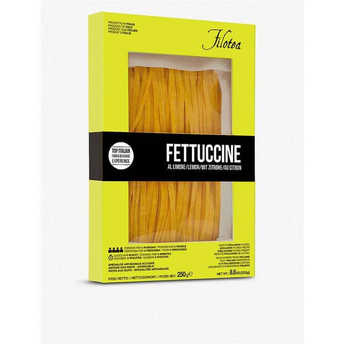 Filotea Lemon Fettuccine Artisan Egg Pasta 250g