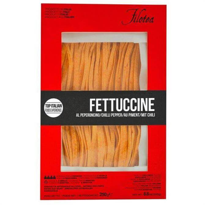 Filotea Chilli Pepper Fettuccine Artisan Egg Pasta 250g