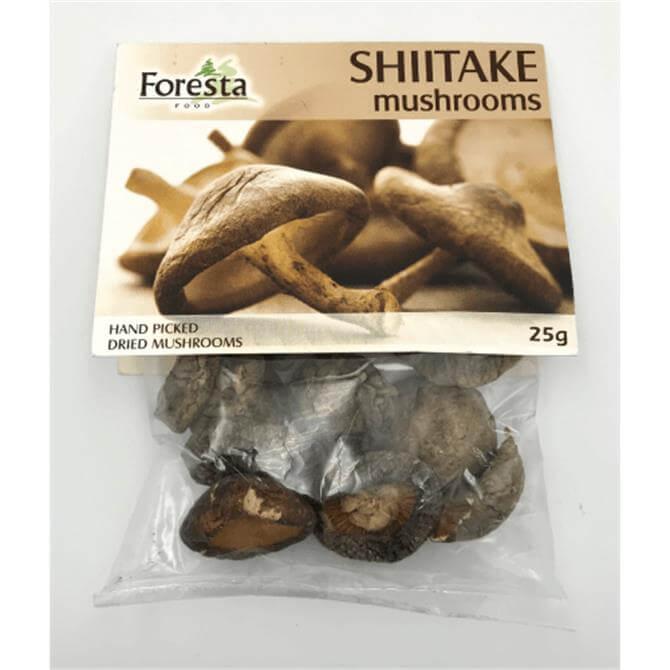 Foresta Dried Shiitake Mushrooms 25G