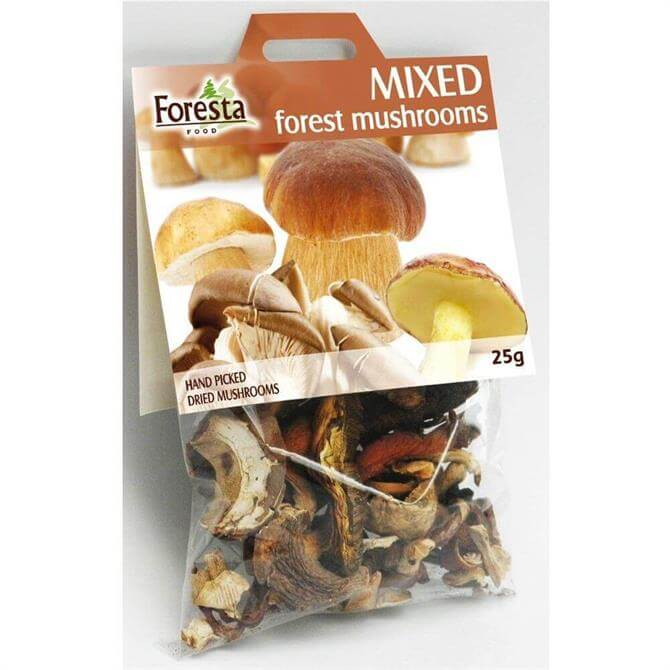 Foresta Dried Mixed Forest Mushrooms 25G