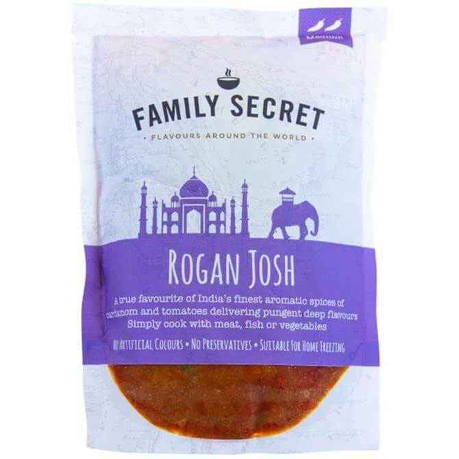 Family Secret - Rogan Josh Curry Sauce 300G
