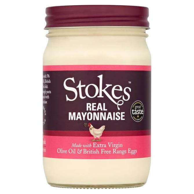 Stokes Real Mayonnaise With Extra Virgin Olive Oil 345G