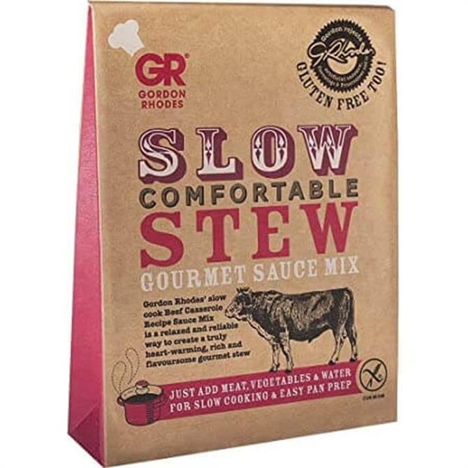 Gordon Rhodes Slow Comfortable Stew Gourmet Sauce Mix 75g