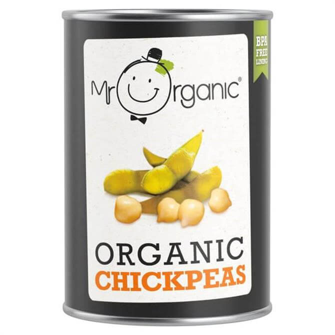 Mr Organic Chick Peas 240g
