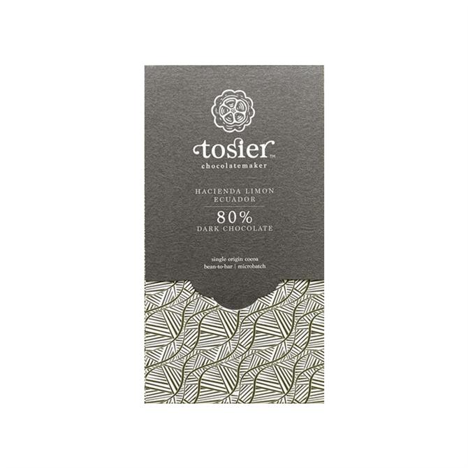 Tosier - Hacienda Limon 80% Ecuador Dark Chocolate 60g