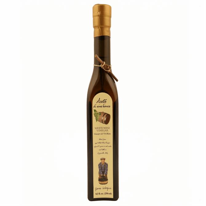 Gianni Calogiuri Uve Padronale White Wine Vinegar