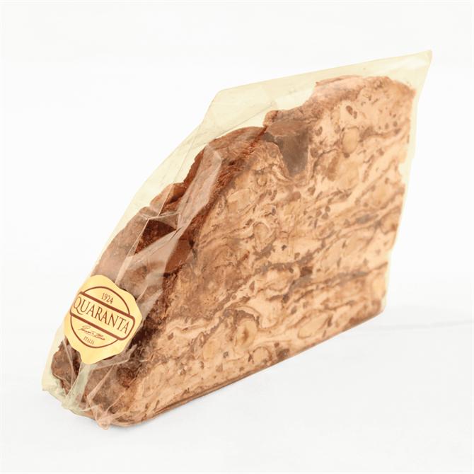 Quaranta Mixed Chocolate Nougat Cake Slice