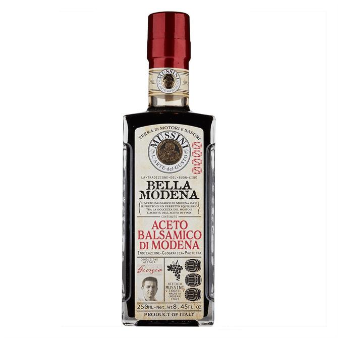 Mussini IGP Balsamic Vinegar of Modena Nuova Bella Modena