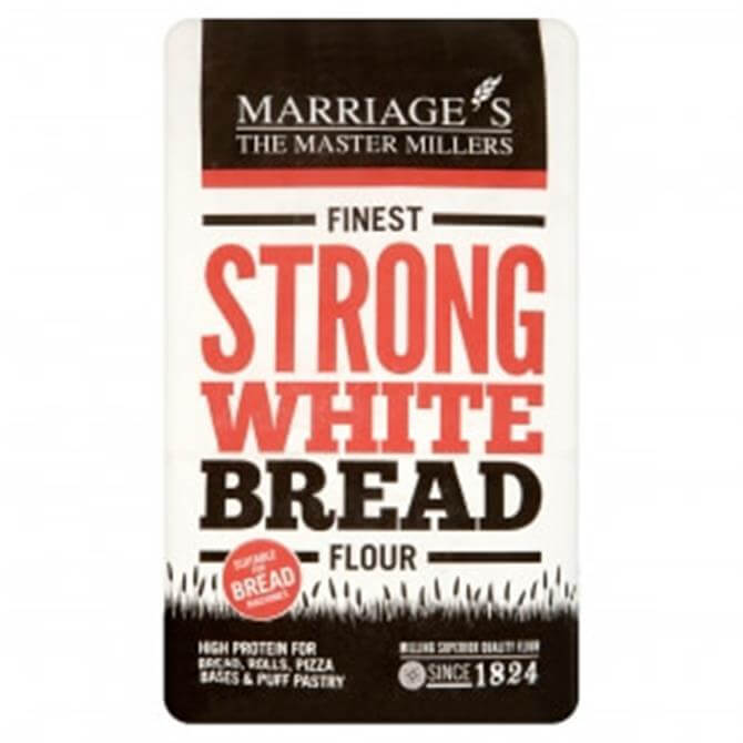 Marriages Finest Strong White Bread Flour 1.5KG