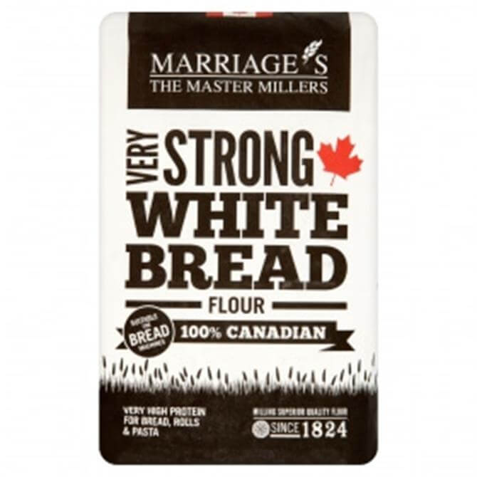 Marriages 100% Canadian Very Strong White Bread Flour 1.5KG