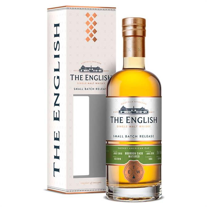 The English Whisky Company Bourbon Cask Matured Peated