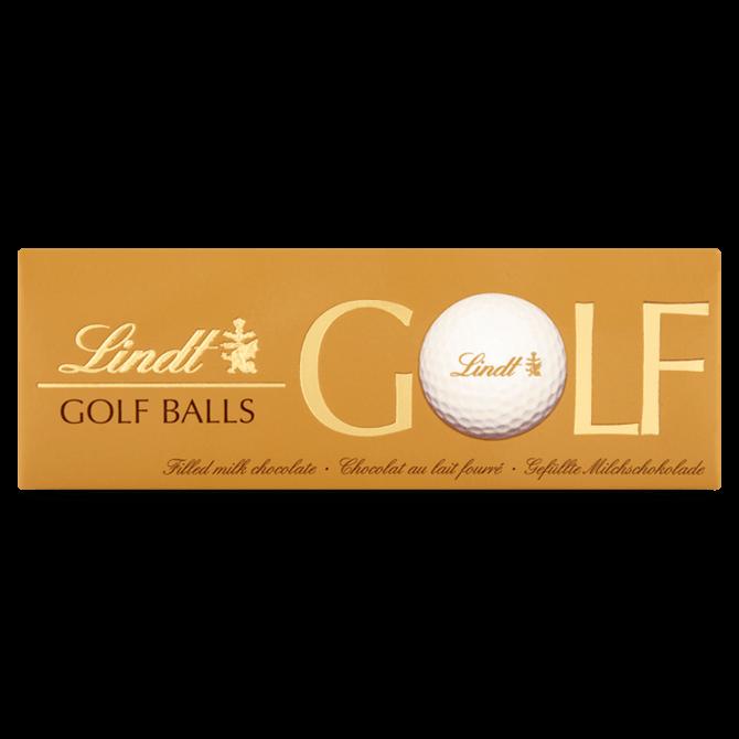 LINDT GOLF BALLS MILK CHOCOLATE 110G