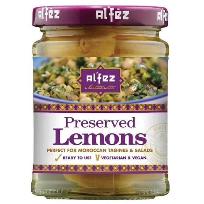 Al'Fez Vegan Preserved Lemons 140g
