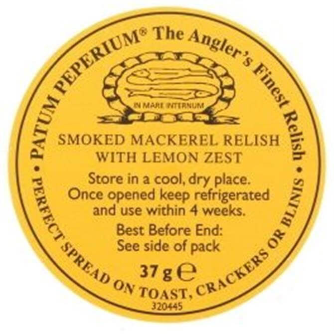 Patum Peperium Smoked Mackerel Relish with Lemon Zest 37g