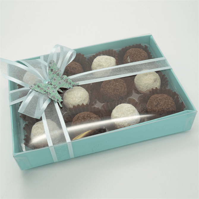 House of Flavour Medium Box with Salted Caramel & Champagne Truffles 144g