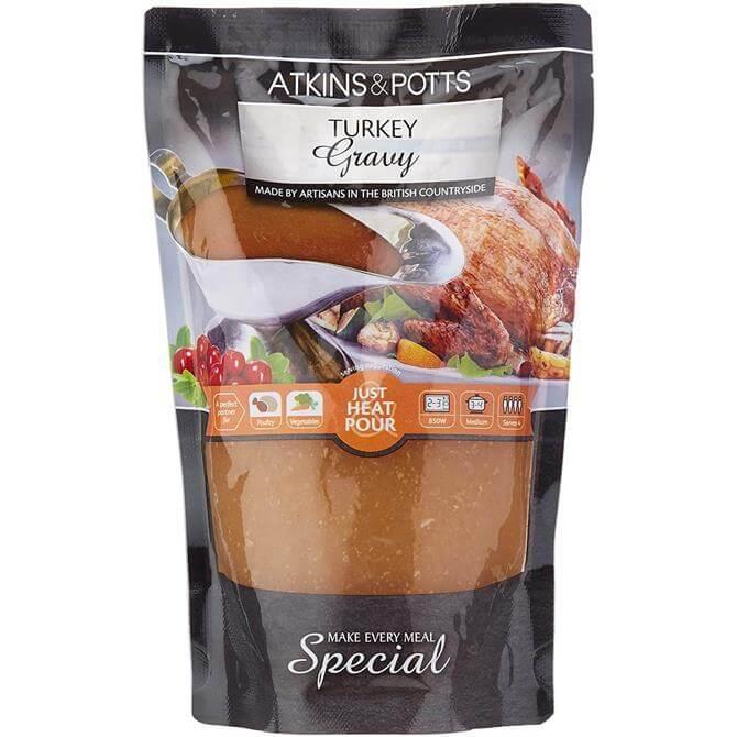 Atkins and Potts Turkey Gravy 400g