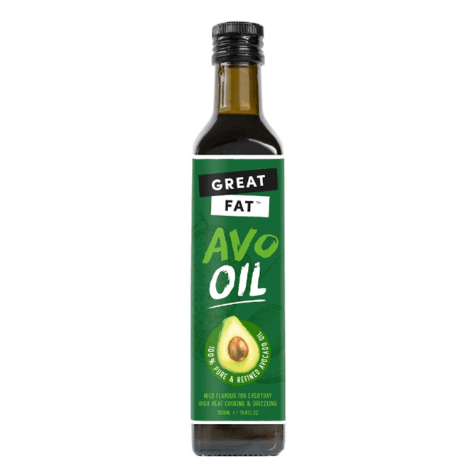 Great Fat Extra Virgin Cold Pressed Avocado Oil 250g