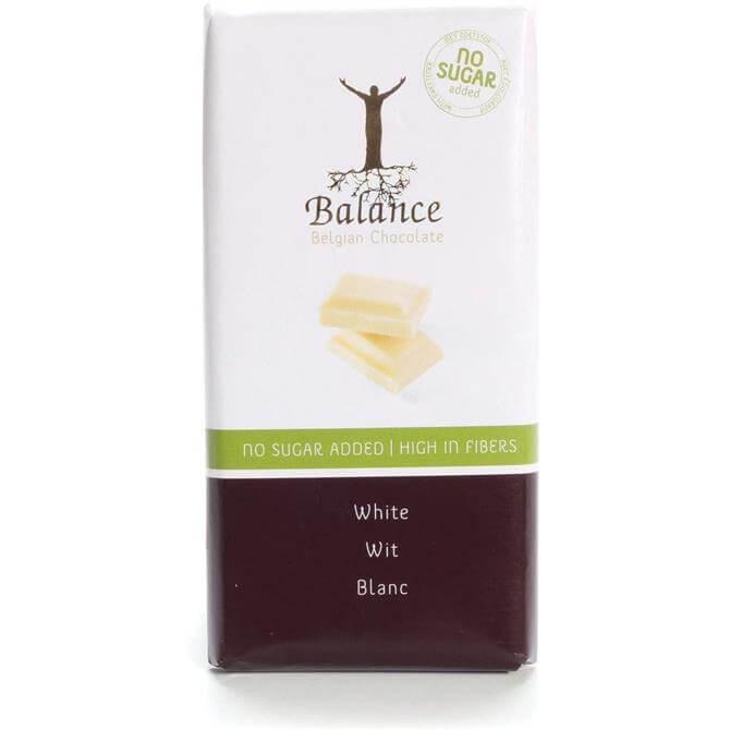 Balance 84% Less Sugar White Belgian Chocolate 100g