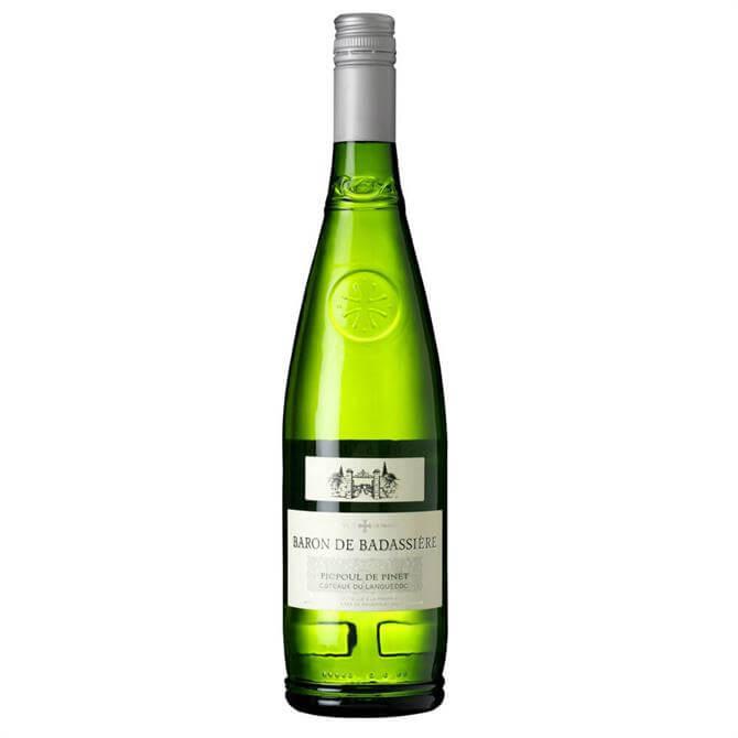Baron de Badassière Picpoul de Pinet White Wine, 2018