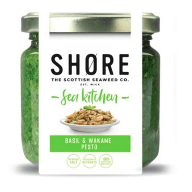 Shore Italian Basil & Seaweed Pesto 180g