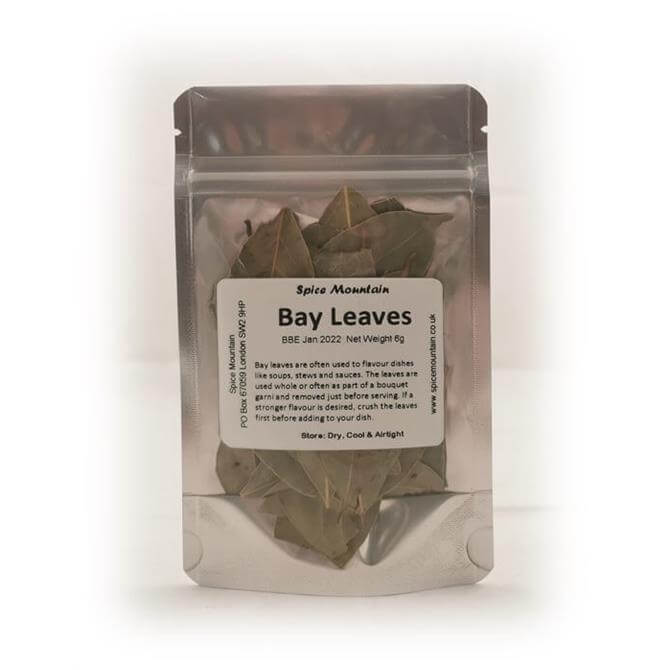 Spice Mountain- Bay Leaves 6g