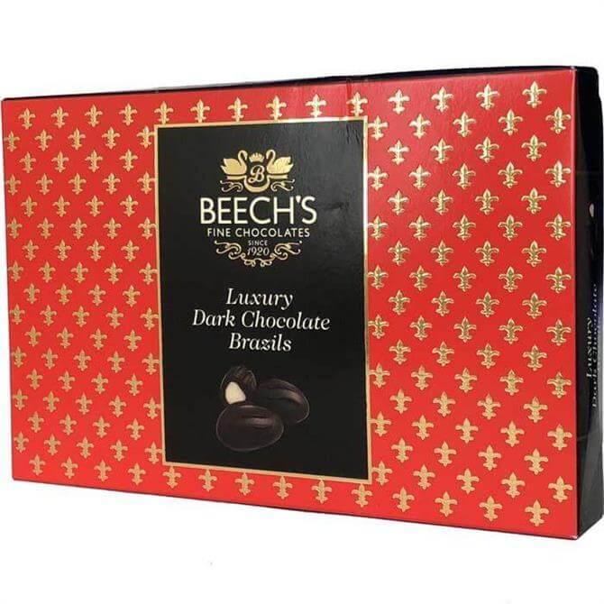 Beeche's Luxury Dark Chocolate Brazils 145g