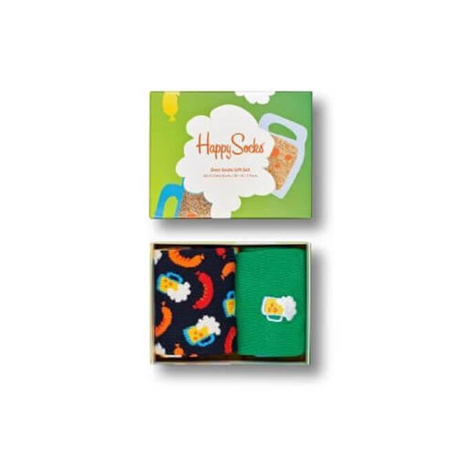 Happy Socks 2-Pack Beer Sock Gift Set