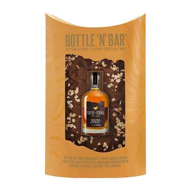 Bottle N Bar Toffee Vodka & Milk & Dark Chocolate