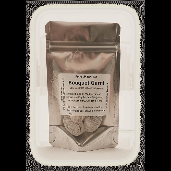 Spice Mountain- Bouquet Garni 3 Hand Tied Pieces