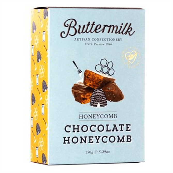 Buttermilk Chocolate Coated Honeycomb 150g