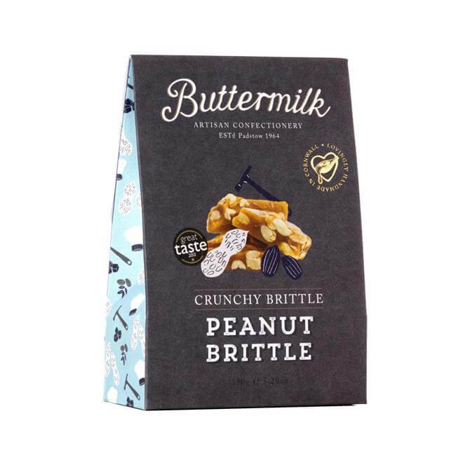 Buttermilk Gluten Free Crunchy Peanut Brittle 150g