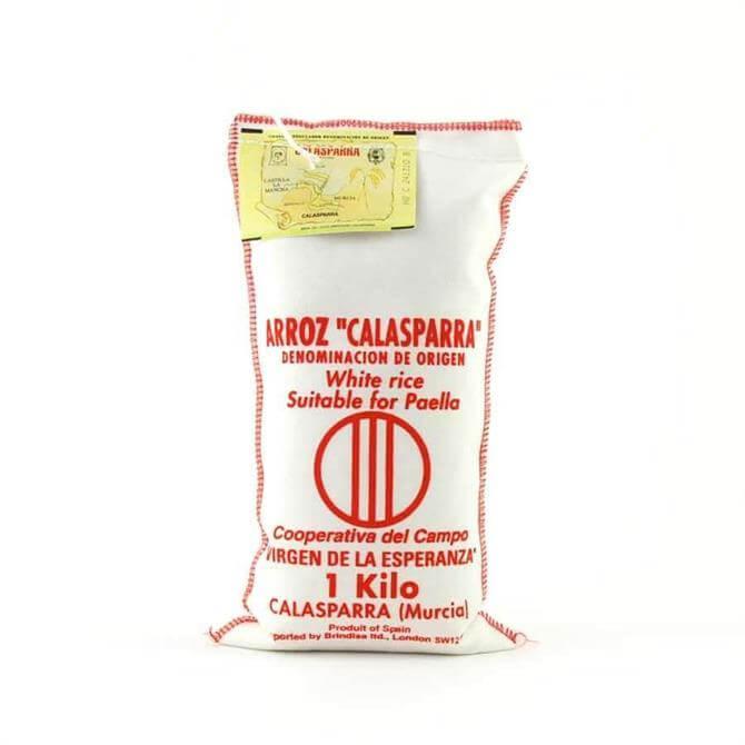 Calasparra White Paella Rice 1KG