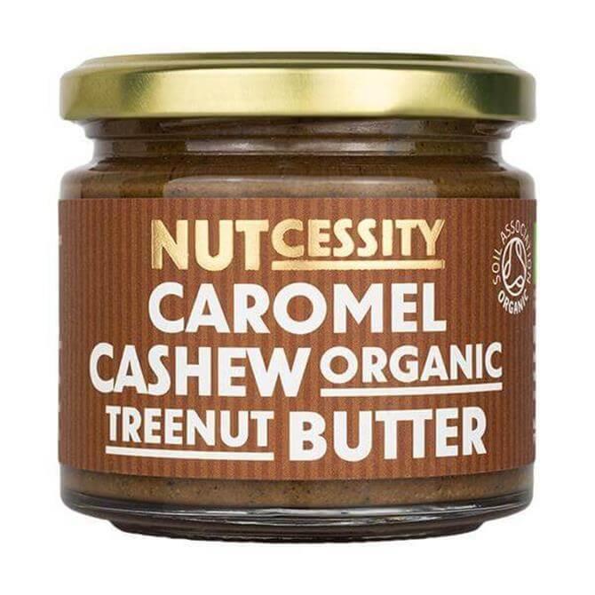 NUTcessity Caromel Cashew Organic Treenut Butter 180G