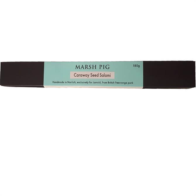 MARSH PIG JARROLD CARAWAY SEED SALAMI 180G