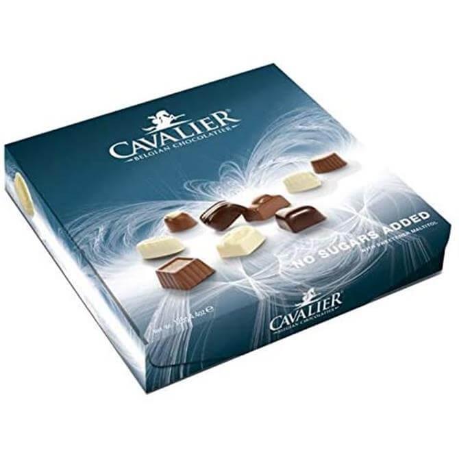 Cavalier Reduced Sugar Assortred Belgian Chocolate 125g