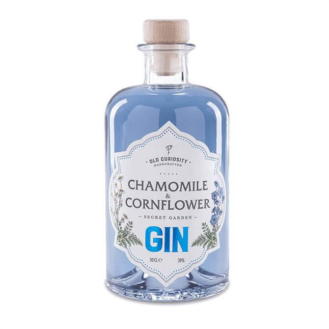 Old Curiosity Chamomile Cornflower Gin 50cl