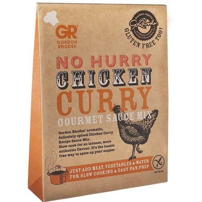 Gordon Rhodes Gluten Free No Hurry Chicken Curry Gourmet Sauce Mix 75g