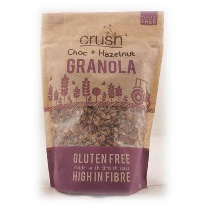 Crush Gluten Free Chocolate and Hazelnut Granola 500g
