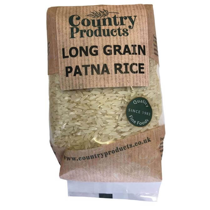 Country Products Long Grain Patna Rice 500G