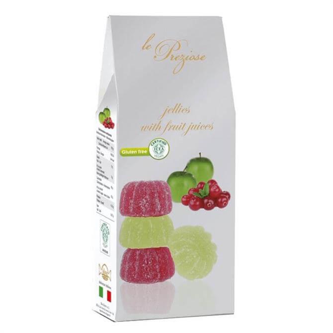 Le Preziose Cranberry & Apple Italian Fruity Jelly Sweets 200G